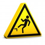 safety at work slip warning sign