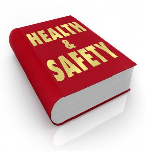Red Health and Safety Book