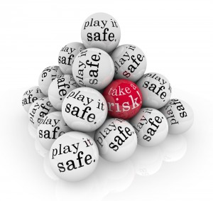 Play it safe written on balls