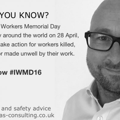 World Day for Safety and Health at Work and why it really matters