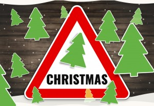 Construction site safety at christmas