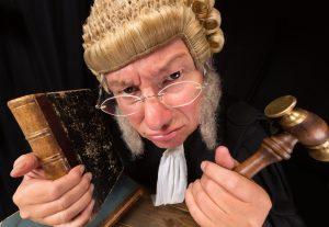 Grumpy old judge