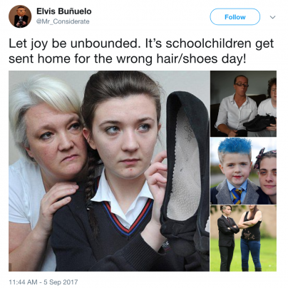 Health and safety an school shoes