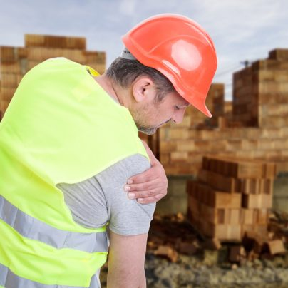 Construction worker injury